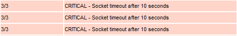 Socket timeout after 10 seconds