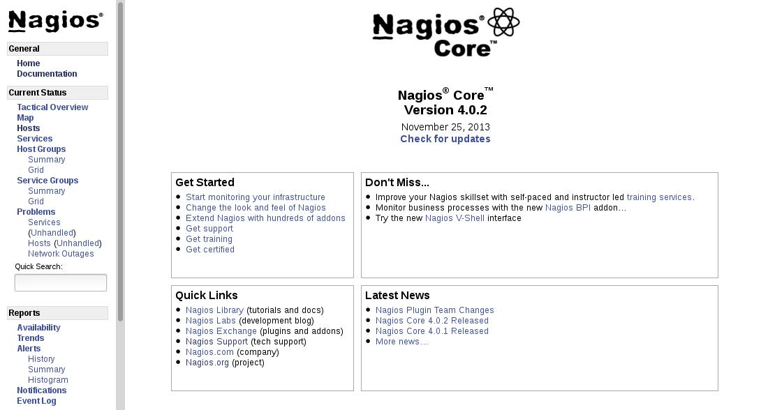 Nagios Core 4 0 0 Install on CentOS 6 - GeekPeek Net