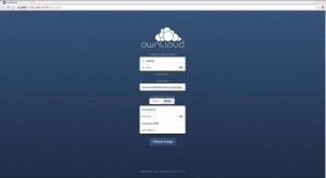 OwnCloud Web Configuration