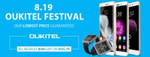 Oukitel Festival Aug 19th at 8am GMT
