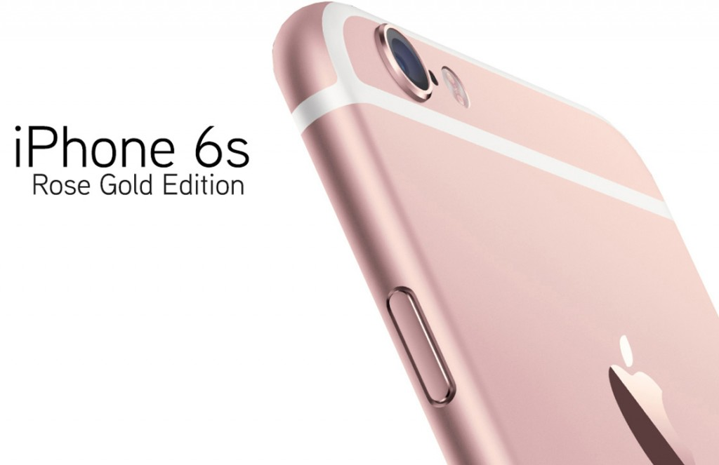The new Apple iPhone 6S Rose Gold Edition