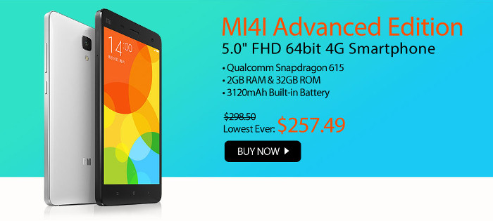XiaoMi MI4 Advanced Edition